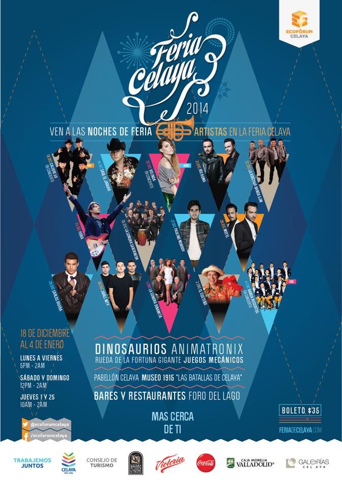 Programa Feria Celaya 2014
