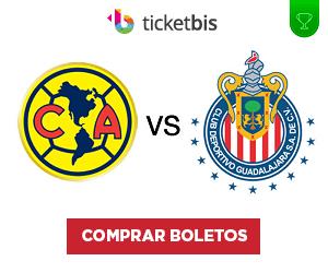 Boletos America vs Chivas 26 Octubre 2016