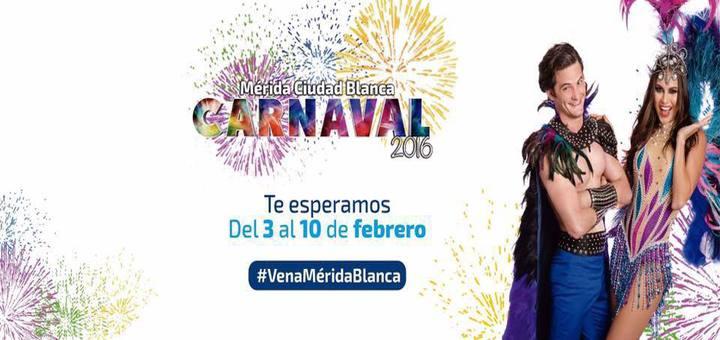 Cartel del Carnaval de Merida 2016
