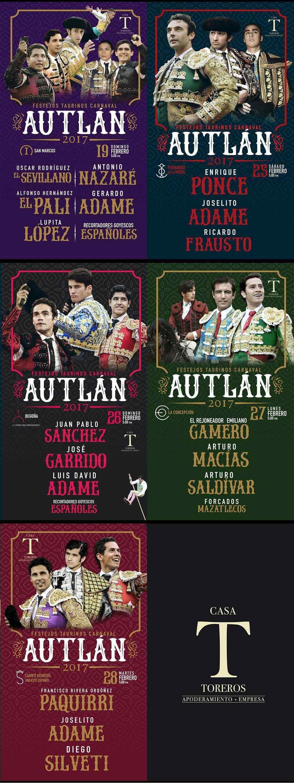 Programa taurino del Carnaval Autlan 2017