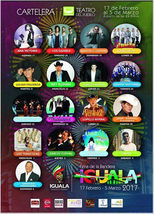 Teatro del Pueblo de la Feria Iguala 2017