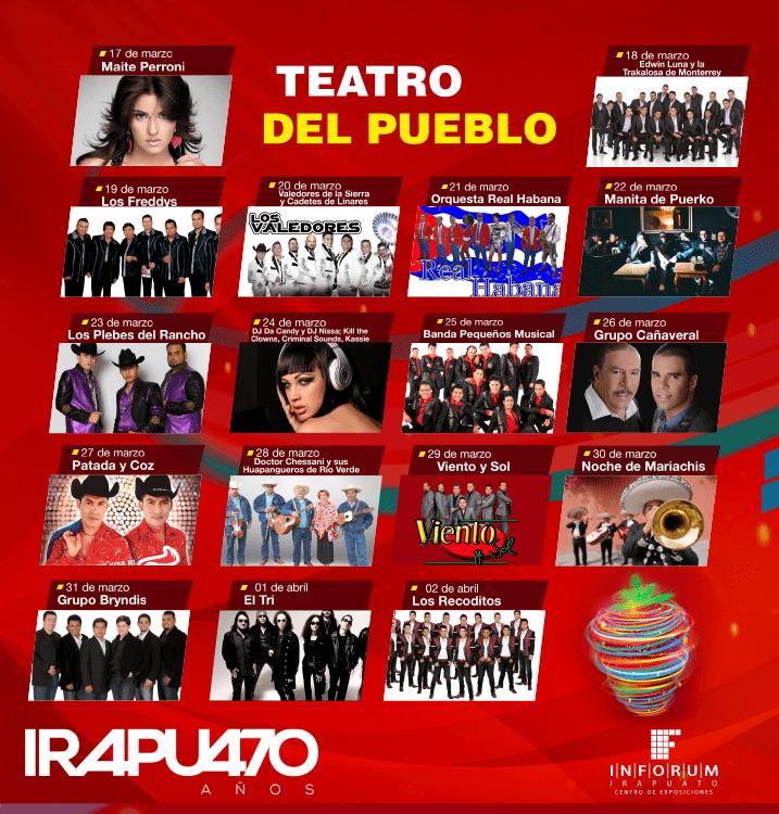 Teatro del Pueblo de la Feria Irapuato 2017