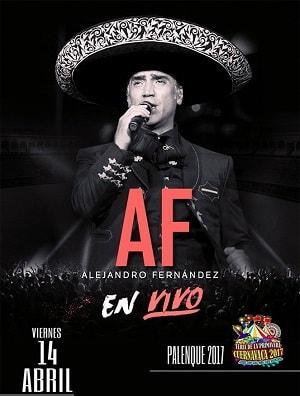 Alejandro Fernandez - Palenque Cuernavaca 2017