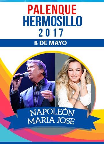 Napoleon y Maria Jose - Palenque Hermosillo 2017
