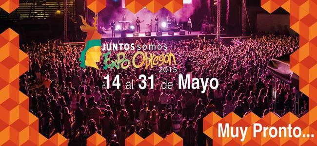 Programa artístico de la Expo Obregon 2015