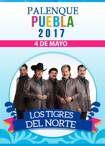 Tigres del Norte - Palenque Puebla 2017
