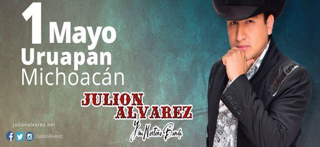 1 de Mayo Julion Alvarez en Uruapan