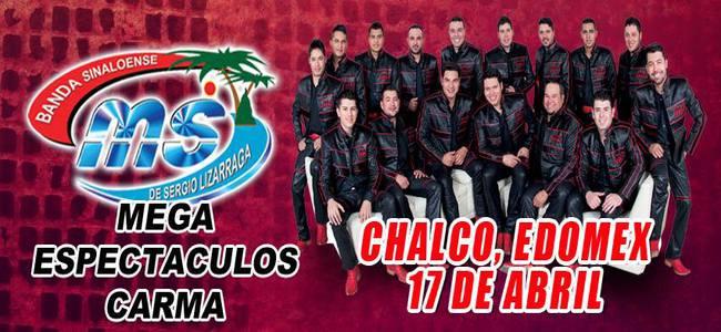 Banda MS en Chalco 2015