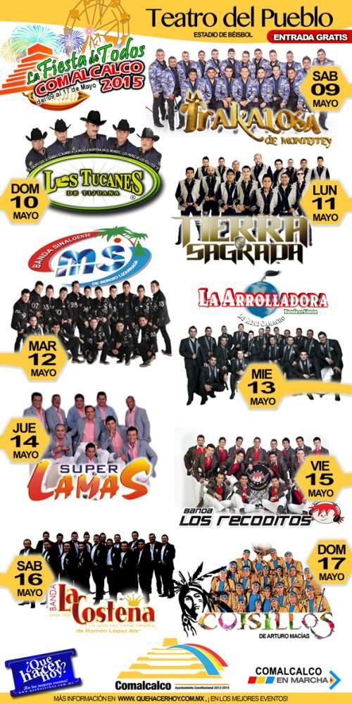 Teatro del Pueblo Feria Comalcalco 2015