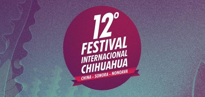 Logo 12 Festival Internacional Chihuahua