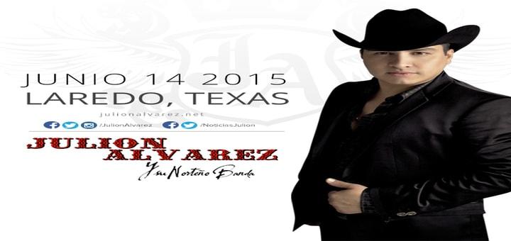Julion Alvarez en Laredo