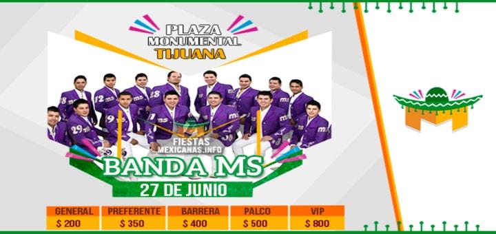 Cartel Banda MS en Tijuana 2015