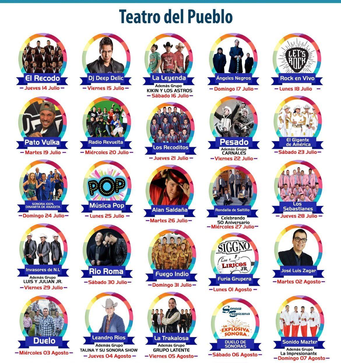 Teatro del Pueblo de la Feria Saltillo 2016