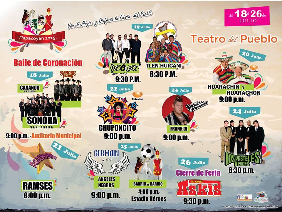 Teatro del Pueblo Feria Tlapacoyan 2015