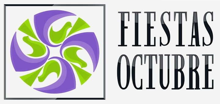 Logo de Fiestas de Octubre