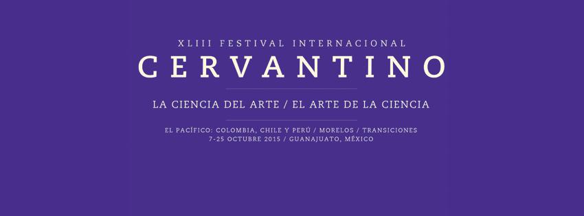 Logo del Festival Cervantino 2015
