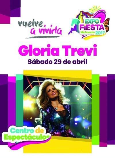 Boletos Gloria Trevi Expo Fiesta Michoacan 2017