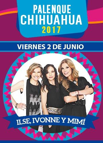 Ilse, Ivonne y Mimi - Palenque Chihuahua 2017
