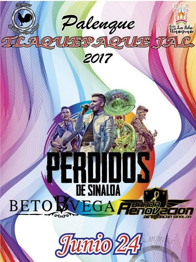 Perdidos de Sinaloa en el Palenque de Tlaquepaque 2017