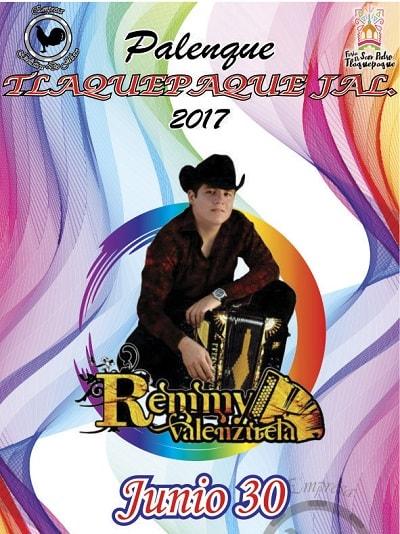 Remmy Valenzuela en el Palenque de Tlaquepaque 2017