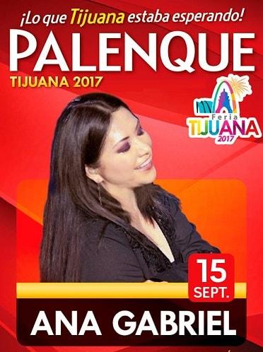 Ana Gabriel en el Palenque Tijuana 2017