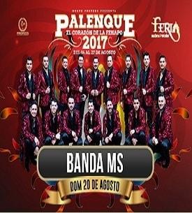 Banda MS en el Palenque FENAPO 2017