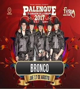 Bronco en el Palenque FENAPO 2017