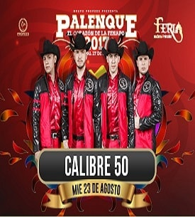 Calibre 50 en el Palenque FENAPO 2017