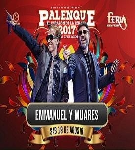 Emmanuel y Mijares en el Palenque FENAPO 2017