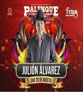 Julion Alvarez en el Palenque FENAPO 2017