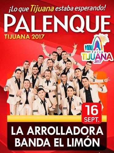 La Arrolladora en el Palenque Tijuana 2017