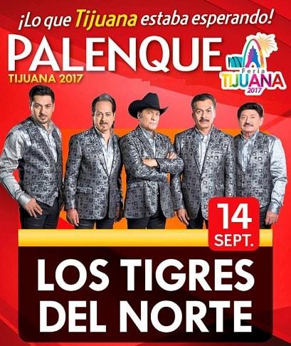 Los Tigres del Norte en el Palenque Tijuana 2017