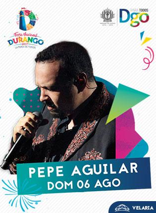 Pepe Aguilar en la Velaria FENADU 2017