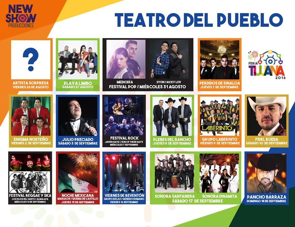 Teatro del Pueblo Tijuana 2016