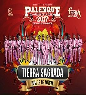 Banda Tierra Sagrada en el Palenque FENAPO 2017