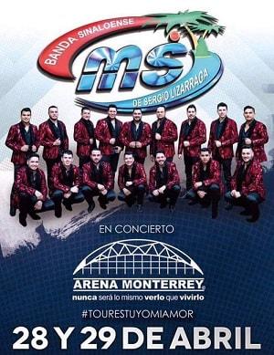 Banda MS en Arena Monterrey