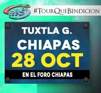 Banda MS en Foro Chiapas