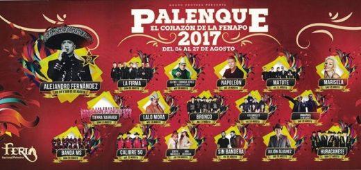 Cartelera del Palenque Fenapo 2017