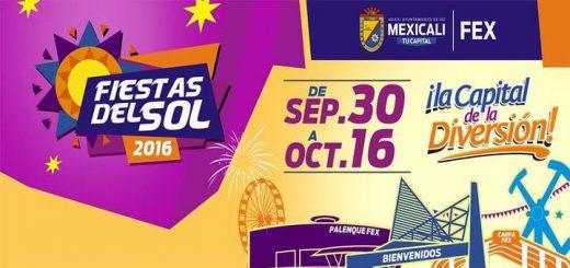 Fiestas del Sol Mexicali 2016