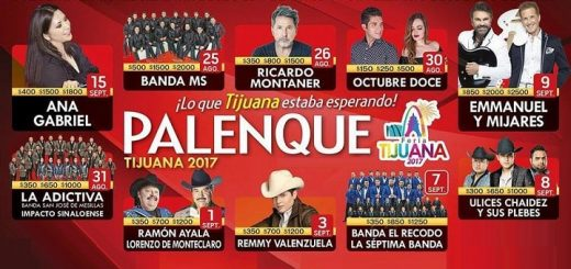 Cartel Palenque Tijuana 2017