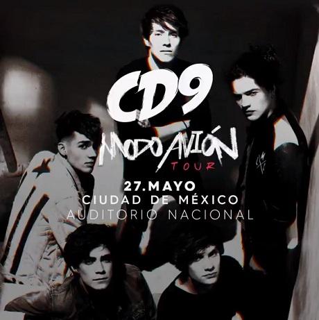CD9 en Auditorio Nacional el 27 de mayo