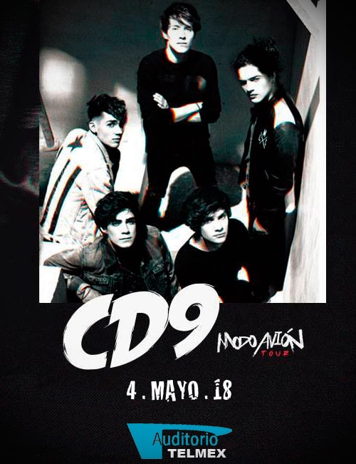 CD9 en Auditorio Telmex Guadalajara 2018