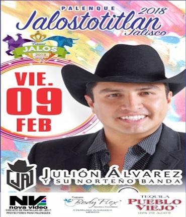 Julion Alvarez en Palenque Jalostotitlan 2018