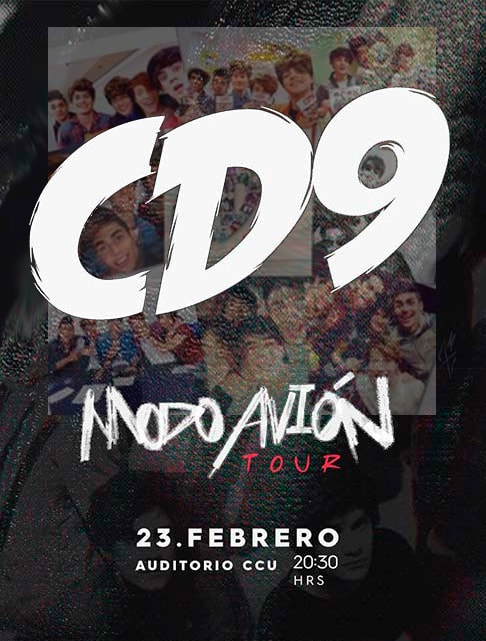 CD9 en Auditorio del Complejo Cultural Universitario