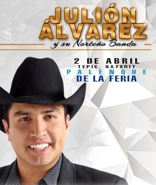 Julion Alvarez - Palenque Tepic 2017