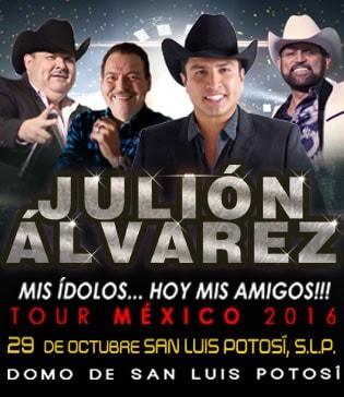 Julion Alvarez en San Luis Potosi