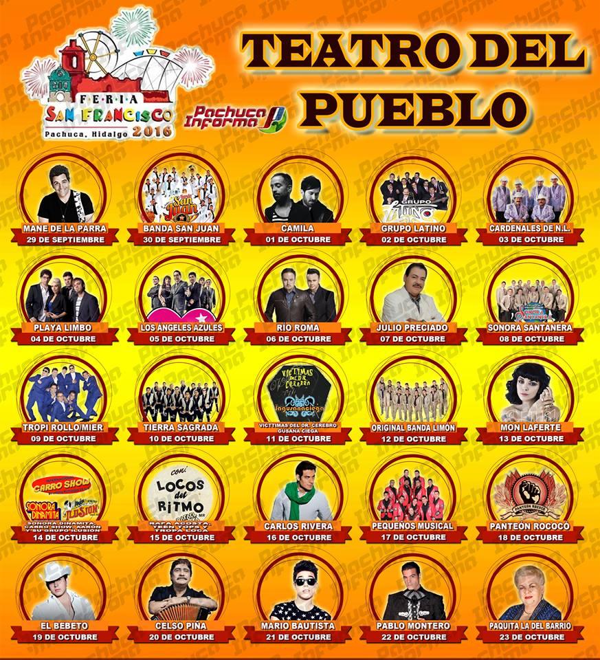 Teatro del Pueblo Feria Pachuca 2016