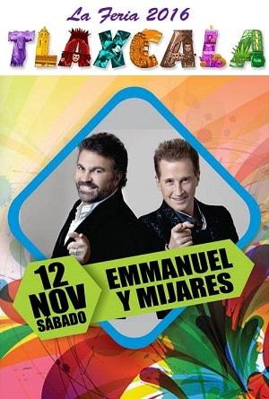 Emmanuel y Mijares en Tlaxcala