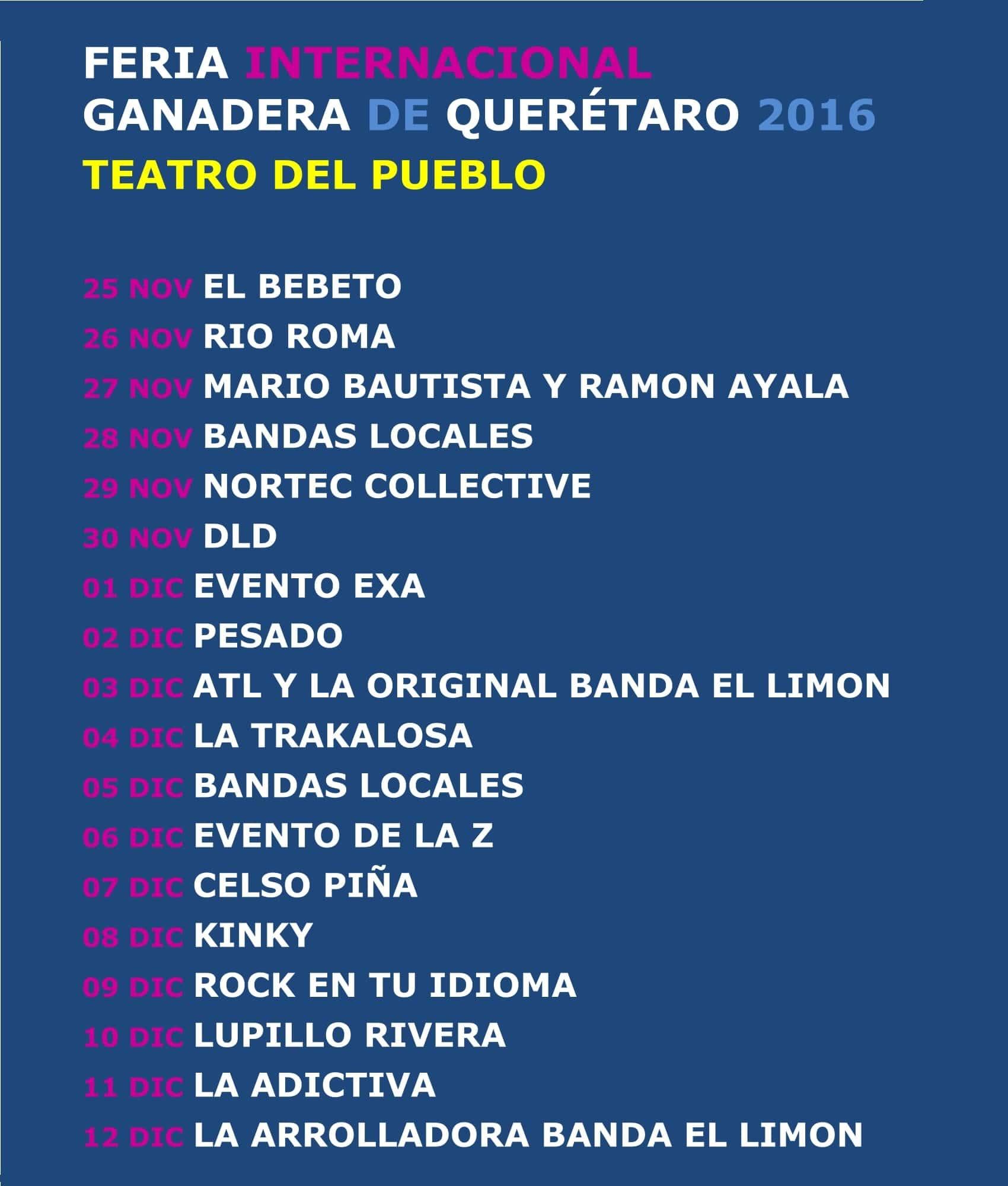 Teatro del Pueblo Feria Queretaro 2016