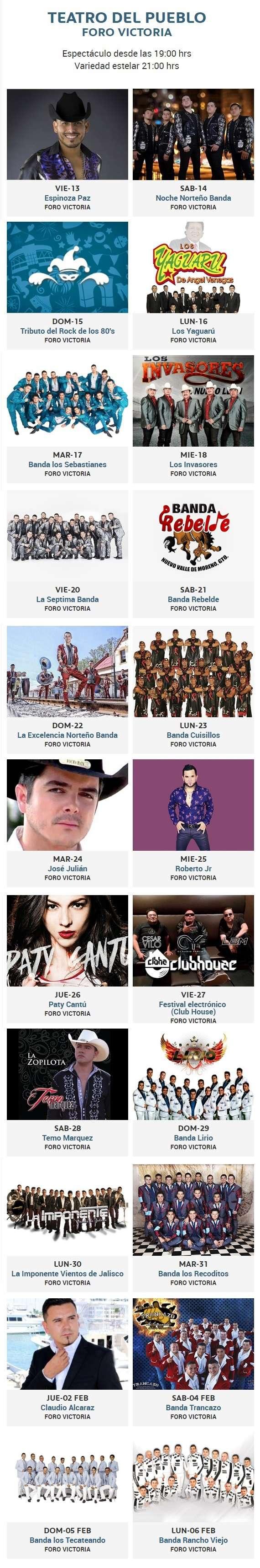 Foro Victoria de la Feria Leon 2017
